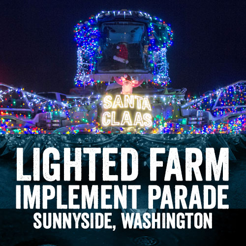 Sunnyside Lighted Farm Implement Parade