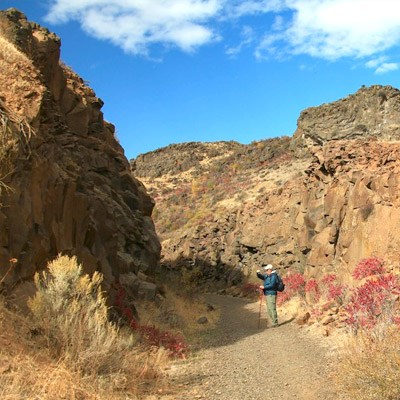 Bike the Cowiche Canyon Trail