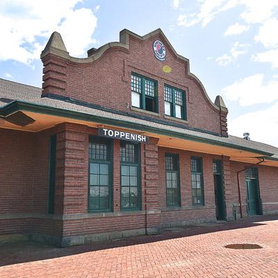 Yakima Valley Rail & Steam Museum Historic Northern Pacific Depot