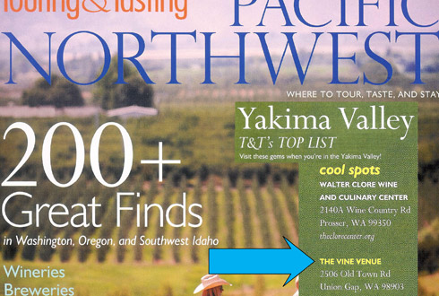 Yakima Valley Wineries Washington S Real Wine Country